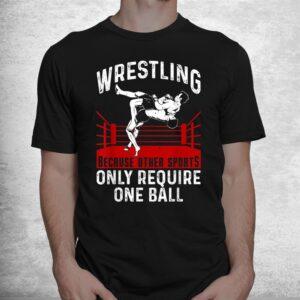 funny wrestling extreme wrestler sport shirt 1
