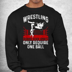 funny wrestling extreme wrestler sport shirt 2