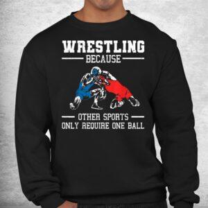 funny wrestling wrestle athletes shirt 2