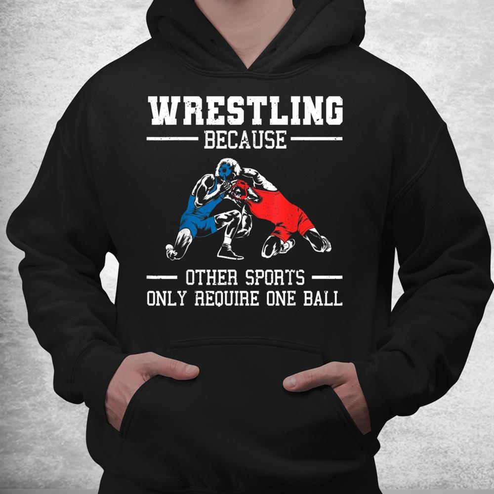 Funny Wrestling Wrestle Athletes Shirt