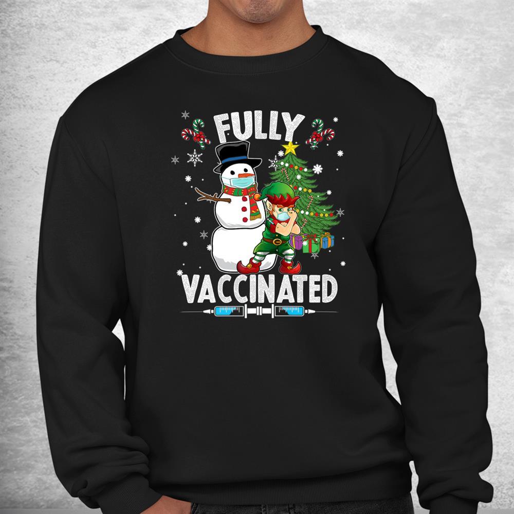 Funny Xmas 2021 Christmas Elf Shirt