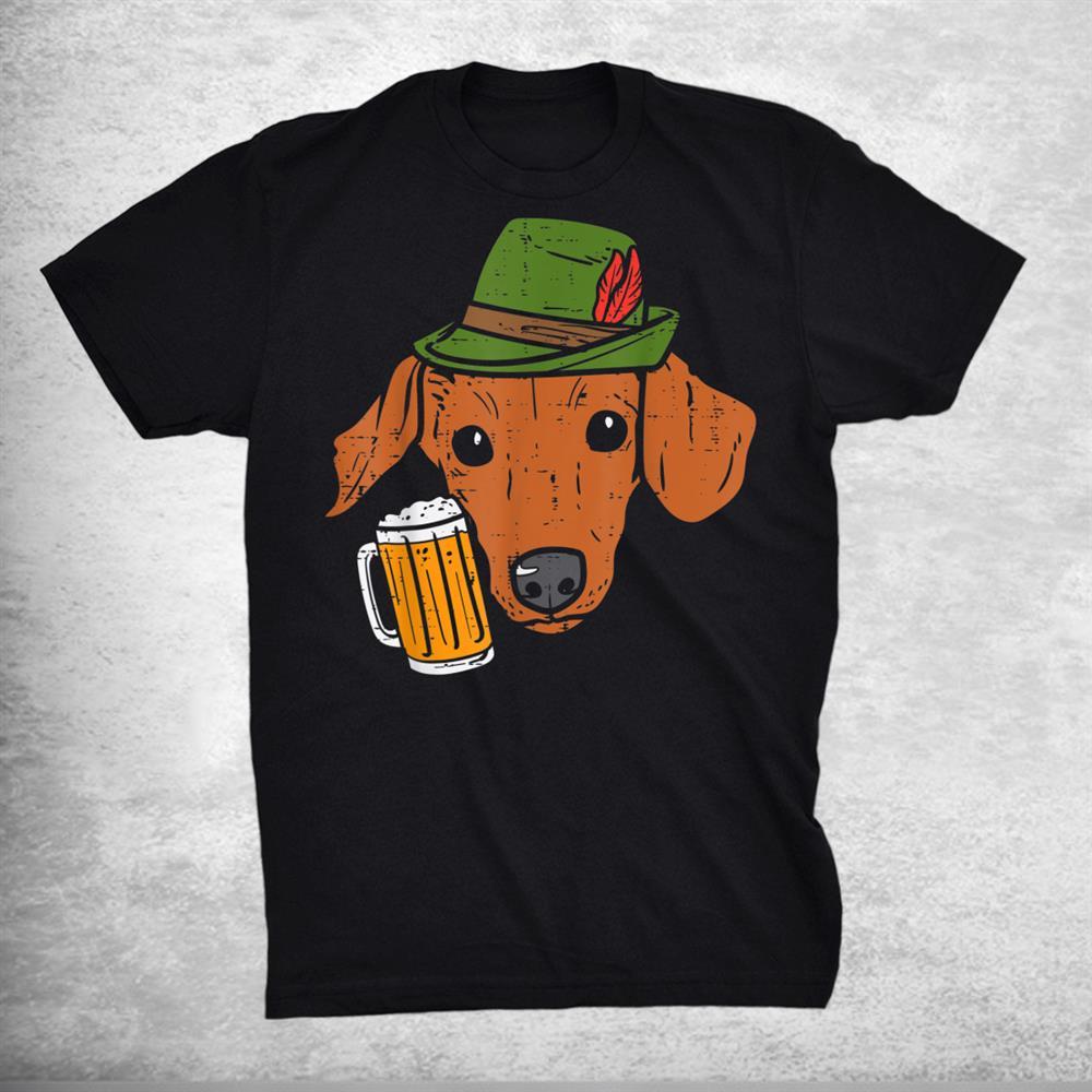 German Dachshund Oktoberfest Bavarian Weiner Sausage Dog Shirt