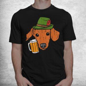 german dachshund oktoberfest bavarian weiner sausage dog shirt 1
