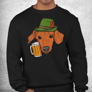 german dachshund oktoberfest bavarian weiner sausage dog shirt 2