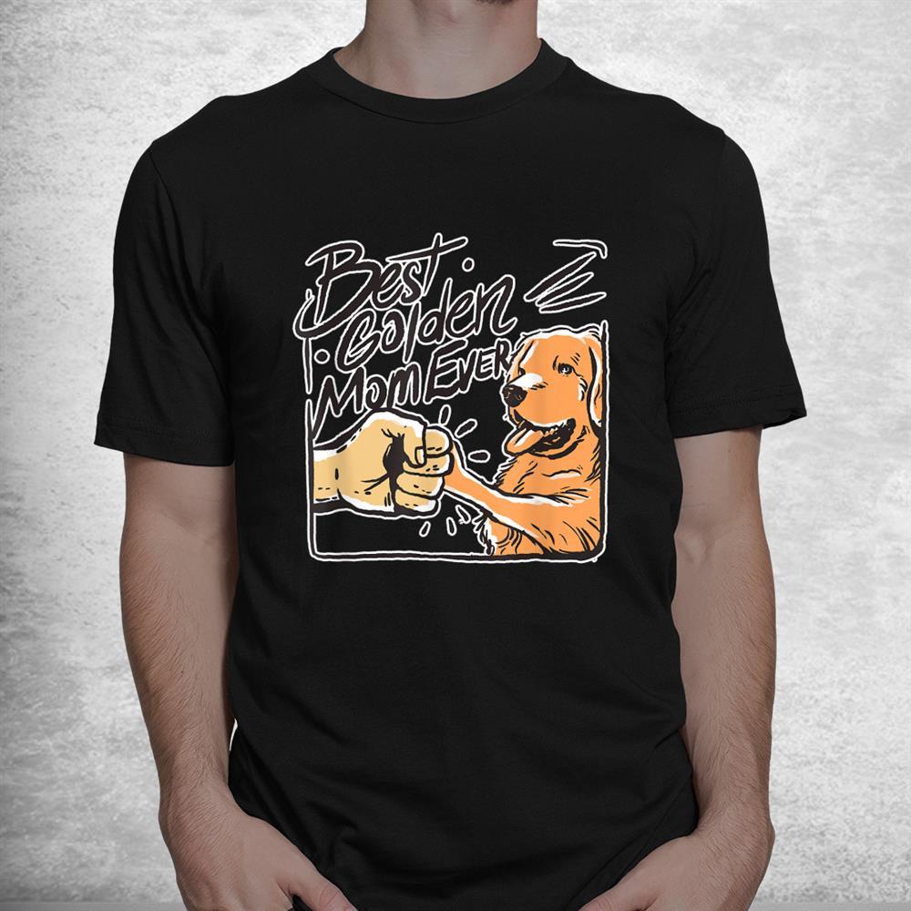 Golden Mom Golden Retriever Lover Shirt