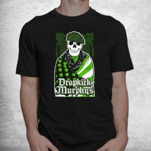 green dropkicks funny skull costume shirt 1