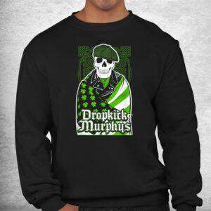 green dropkicks funny skull costume shirt 2