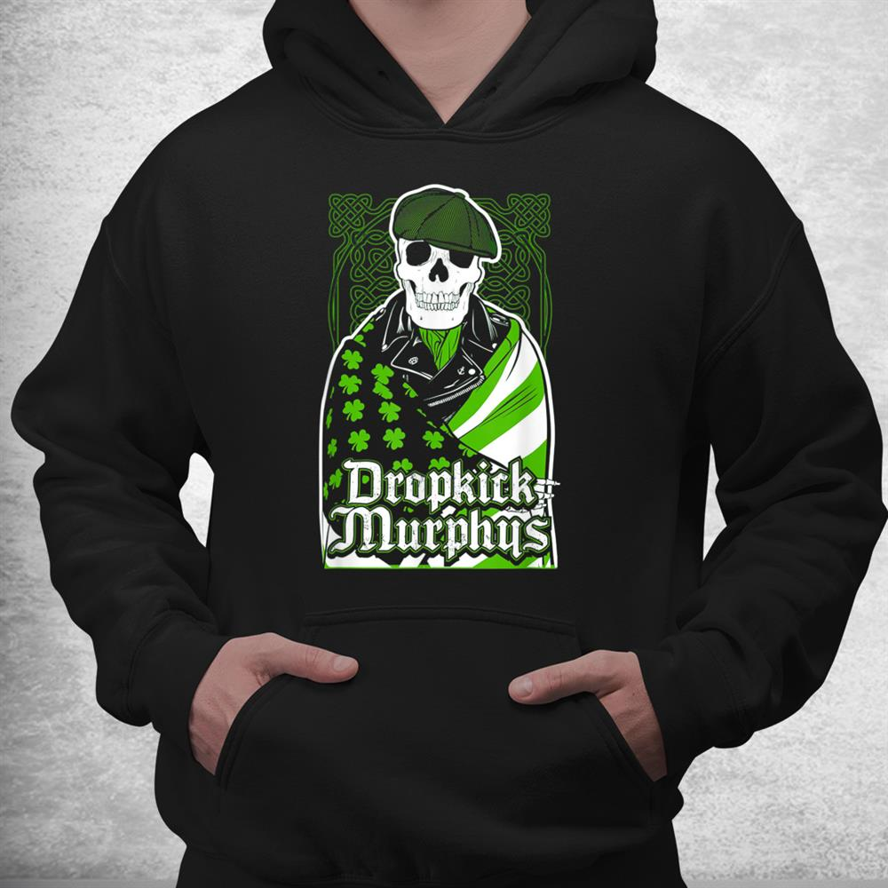 Green Dropkicks Funny Skull Costume Shirt