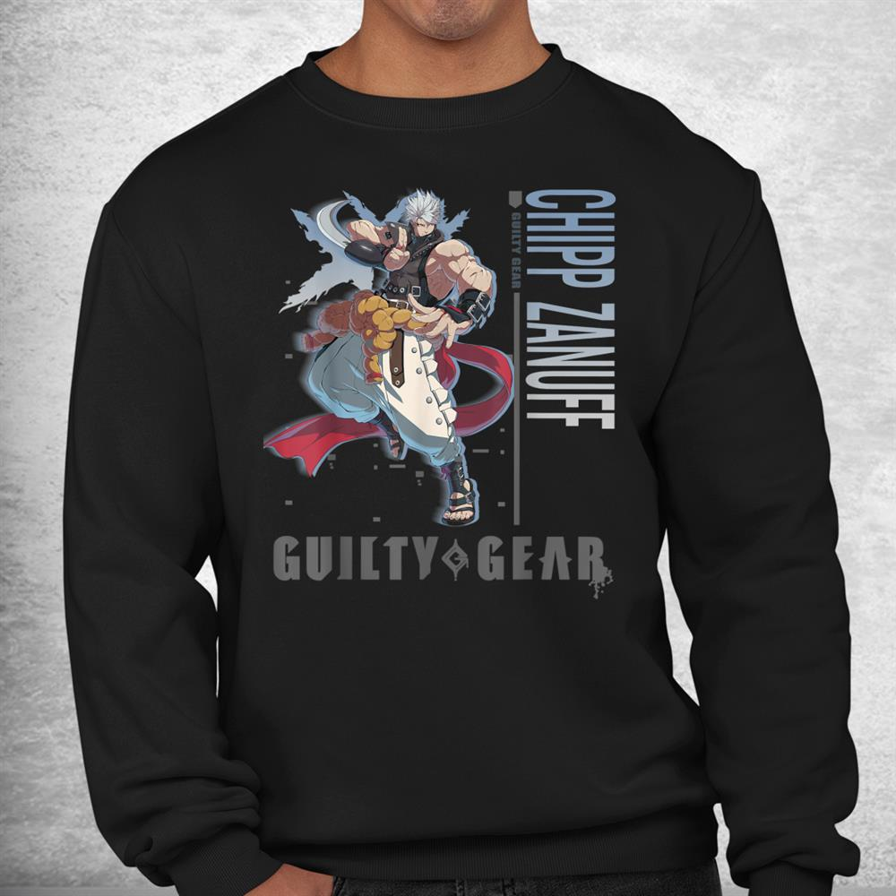 Guiltys Arts Gear Anime Characters Funny Videogamers Shirt