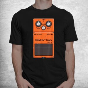 guitar pedal amp cartoon cool music lover shirt 1