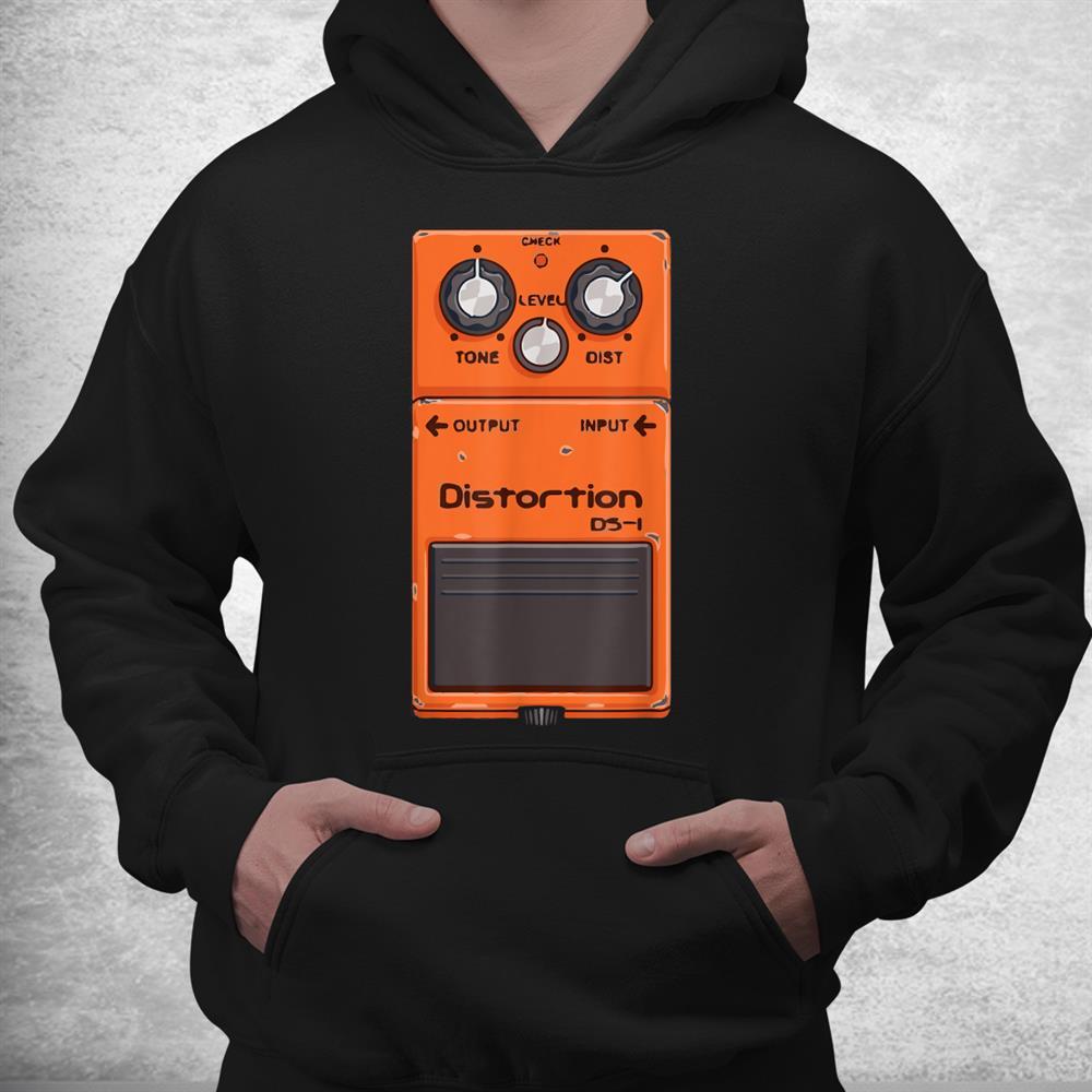 Guitar Pedal Amp Cartoon Cool Music Lover Shirt