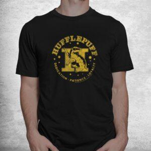 harry potter house hufflepuff dedication patience loyalty shirt 1