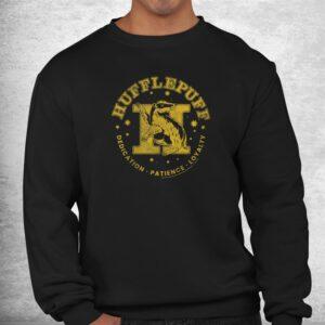 harry potter house hufflepuff dedication patience loyalty shirt 2