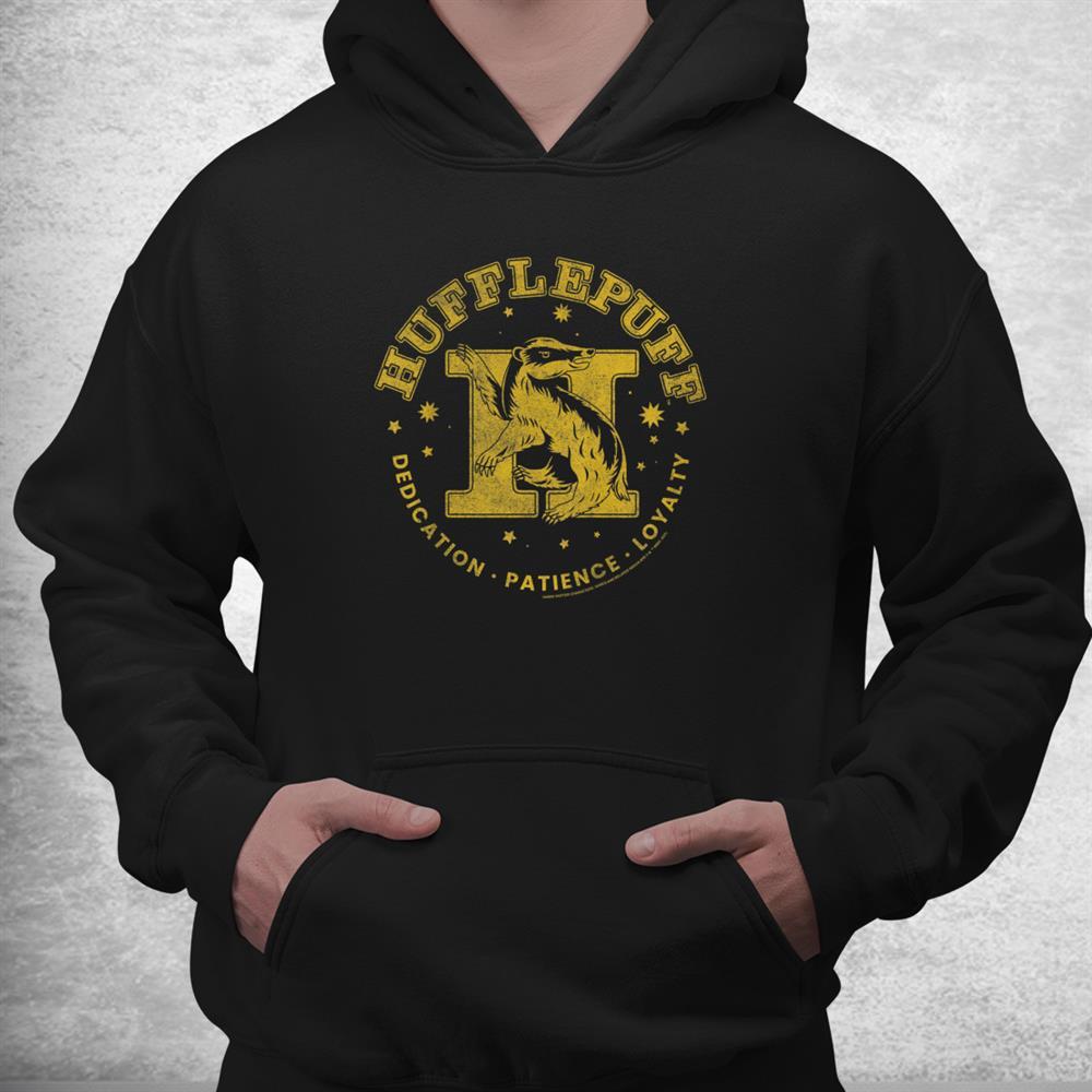 Harry Potter House Hufflepuff Dedication Patience Loyalty Shirt