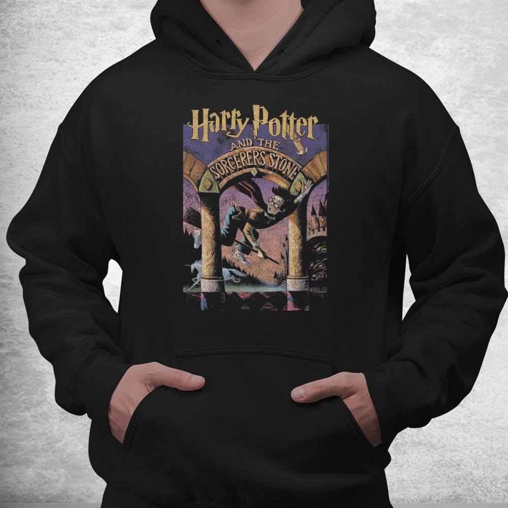 Harry Potter The Sorcerers Stone Book Cover Shirt