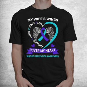 heart teal purple miss my wife suicide awareness prevention shirt 1
