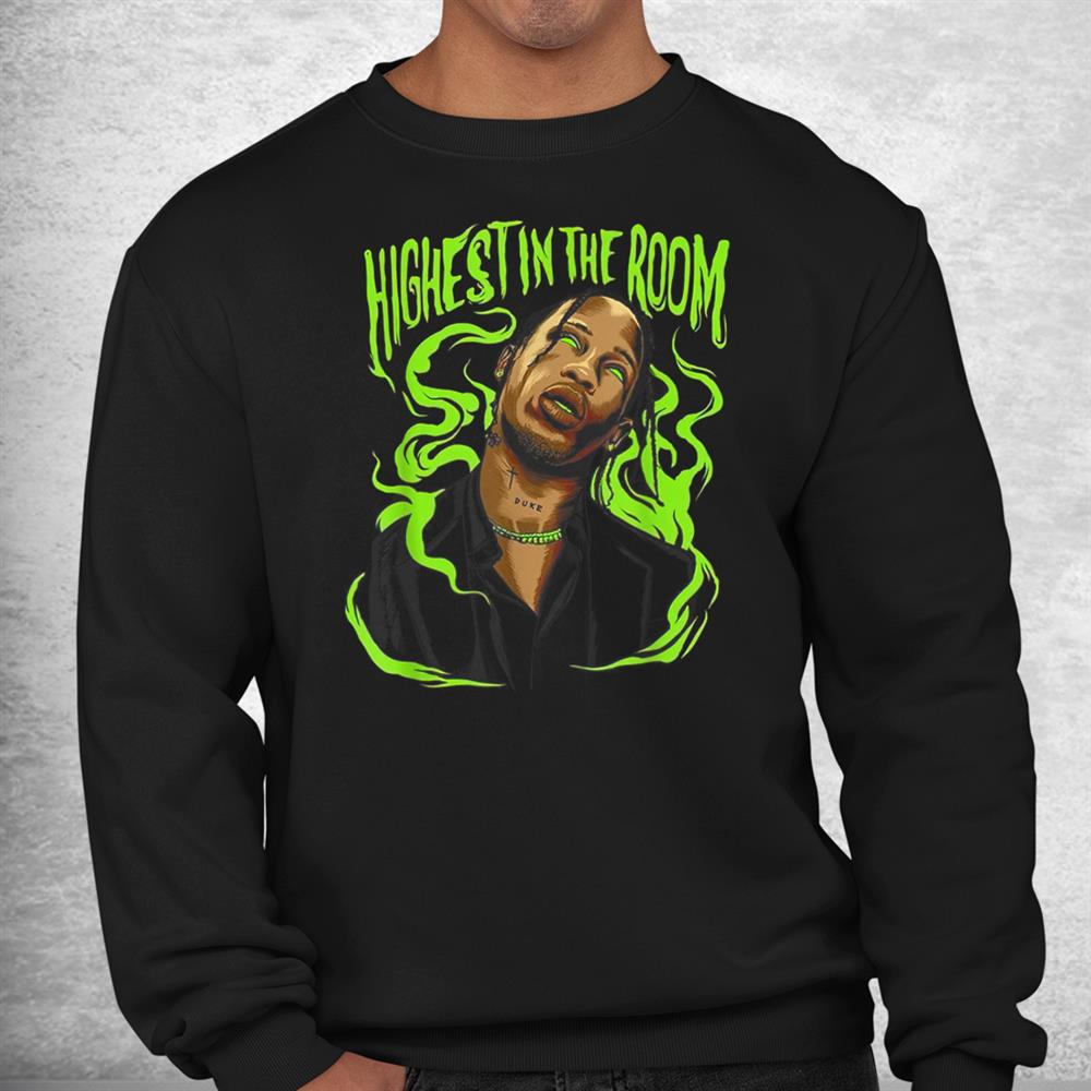 Highest In The Room Graphic Match Green Sneaker Electric Shirt