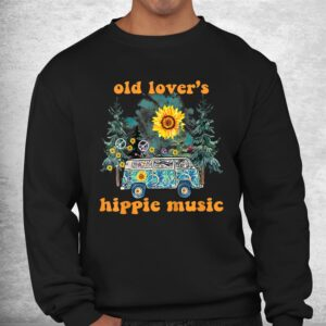 hippy style old lovers hippie music hippy love shirt 2