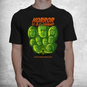 horror from the dc swamp joe biden democrats halloween shirt 1