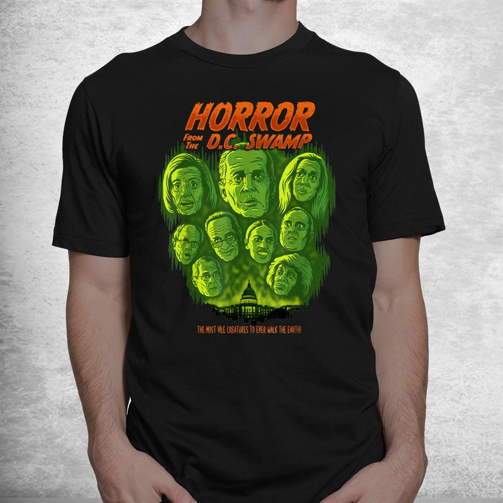Horror From The Dc Swamp Joe Biden Democrats Halloween Shirt