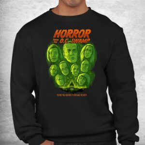 horror from the dc swamp joe biden democrats halloween shirt 2