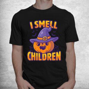 i smell children funny dad mom teacher halloween costume shirt 1