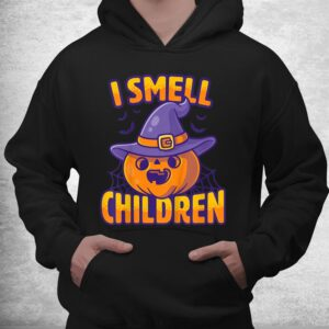 i smell children funny dad mom teacher halloween costume shirt 3