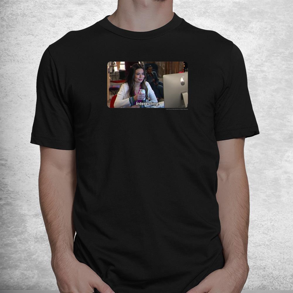 Icarly Interesting Carly Photoreal Meme Shirt
