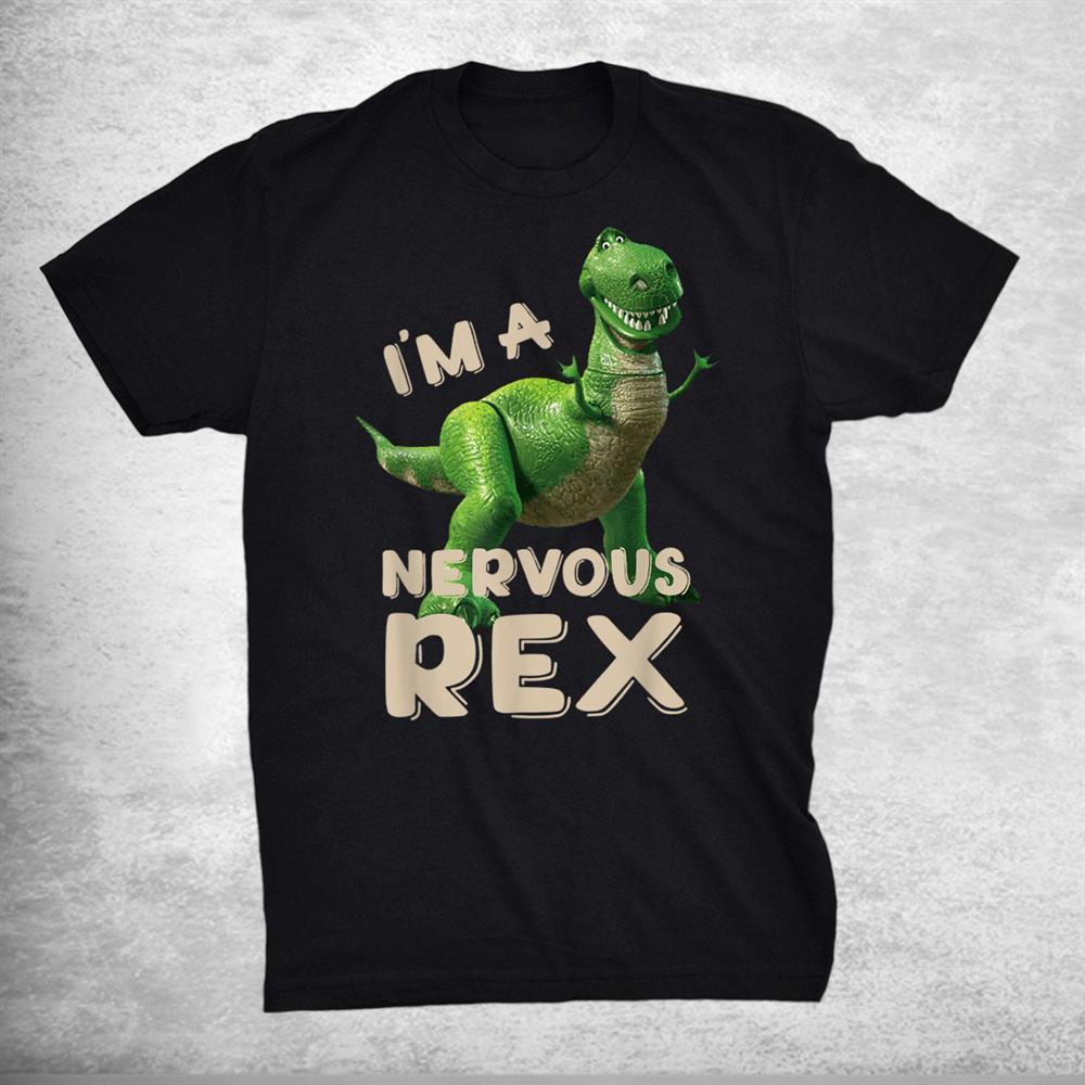 Im A Nervous Rex Dinosaur Funny Shirt