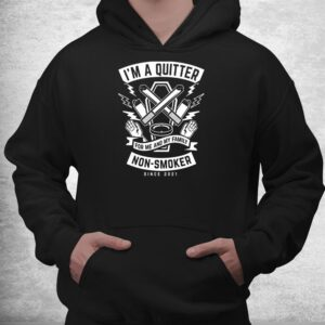 im a quitter non smoker since 2022 funny quit smoking shirt 3
