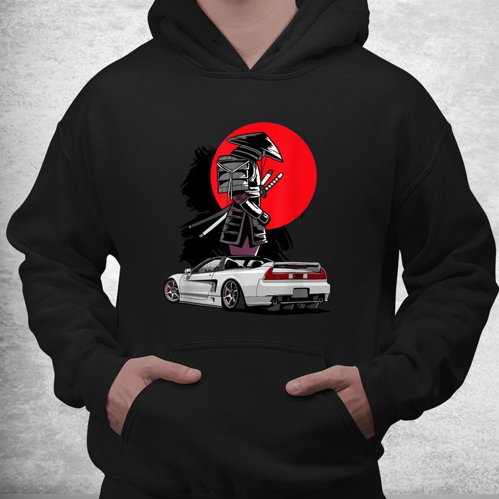 Jdm Nsx Car Tuning Japan Samurai Drift Import Shirt