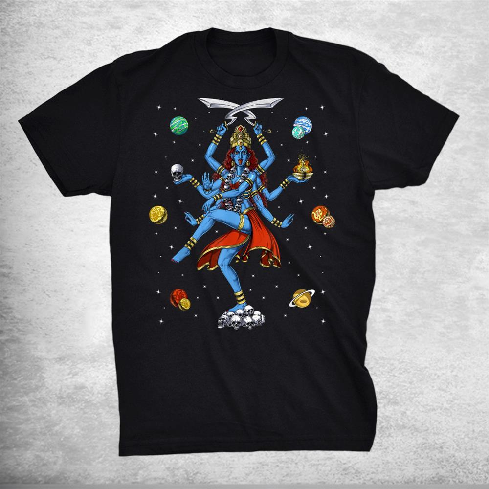 Kali Hindu Goddess Hinduism Deity God Spiritual Zen Yoga Shirt