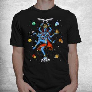 kali hindu goddess hinduism deity god spiritual zen yoga shirt 1