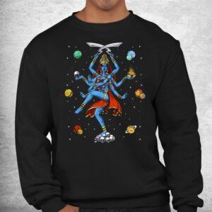 kali hindu goddess hinduism deity god spiritual zen yoga shirt 2