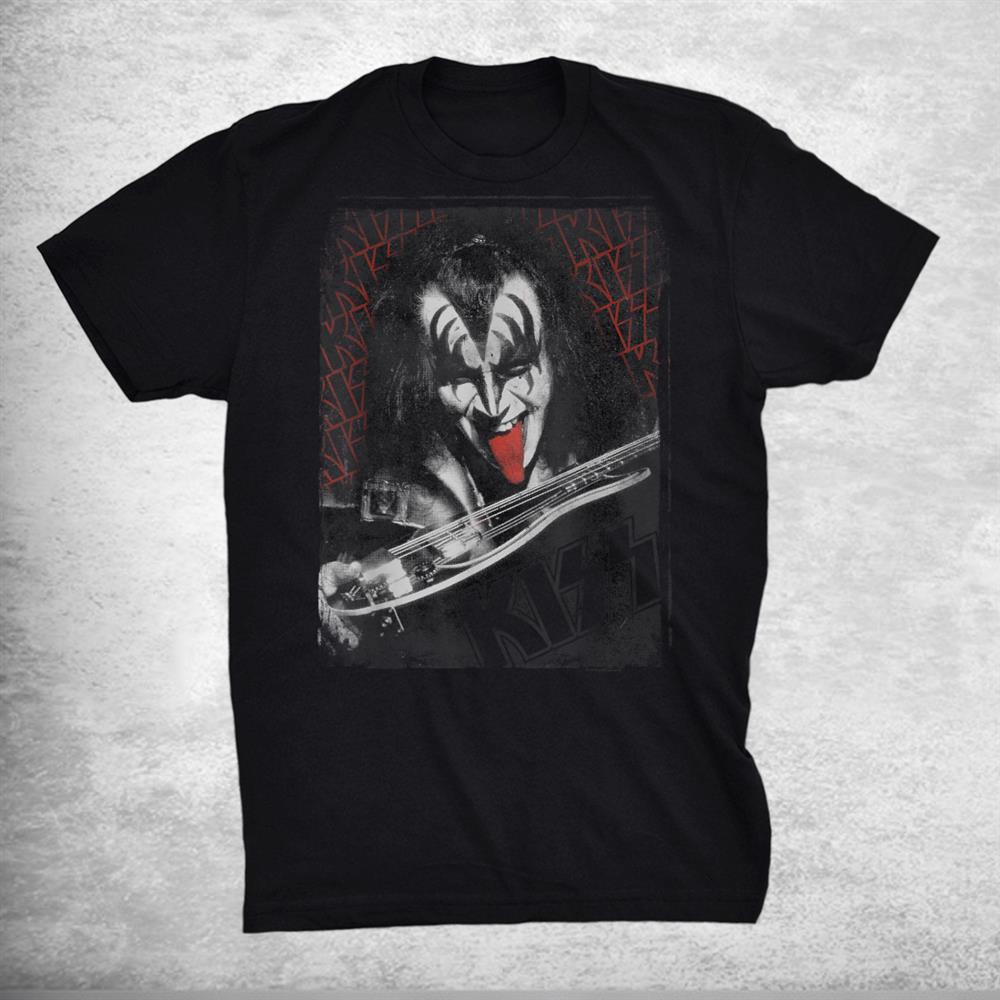 Kiss Gene Simmons Tongue Shirt
