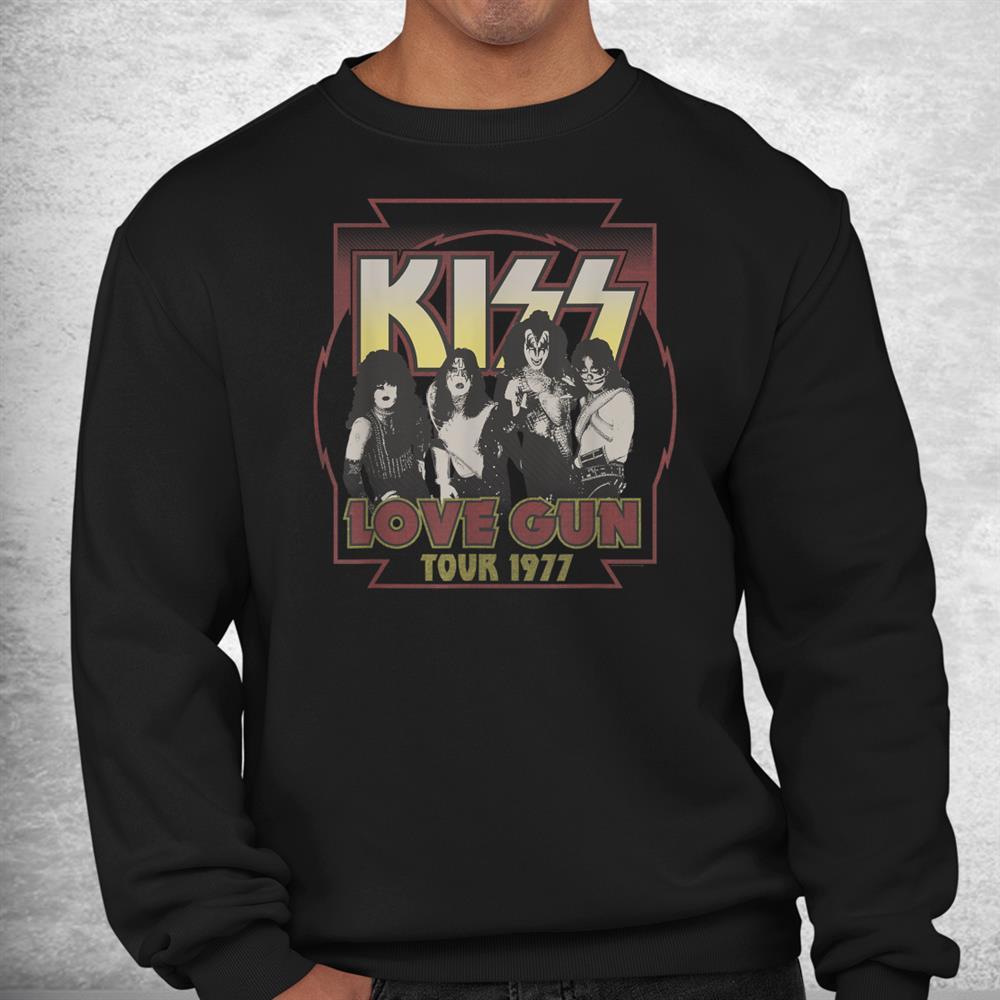 Kiss Love Gun Tour 1977 Shirt