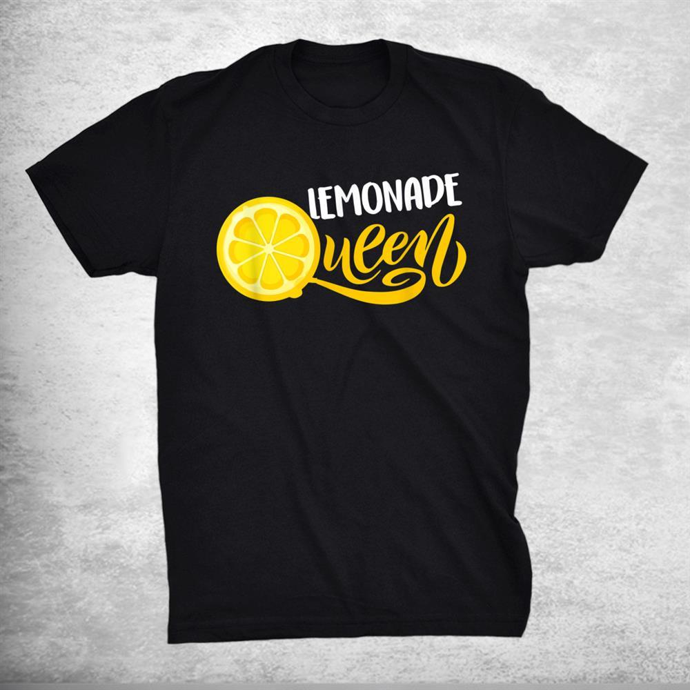 Lemonade Queen Lemon Fruit Lovers Shirt