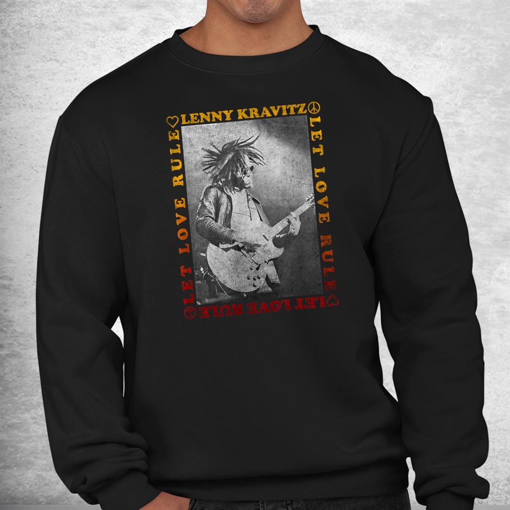Lenny Kravitz Let Love Rule Guitar Shirt