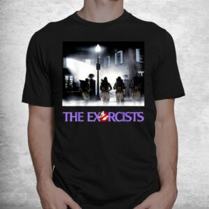 let is call the exorcists halloween costume ghost shirt 1