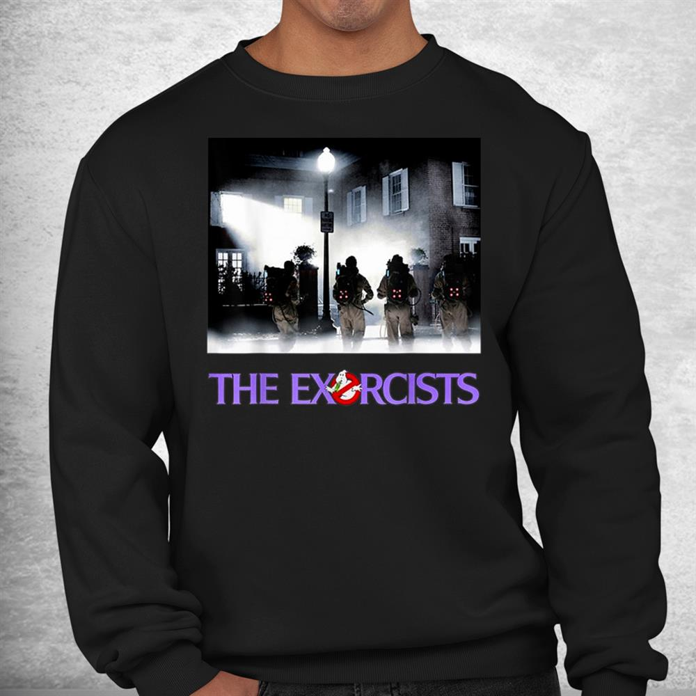 Let Is Call The Exorcists Halloween Costume Ghost Shirt