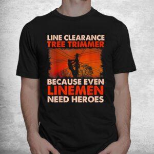 line clearance tree trimmer arborist tree surgeon logger shirt 1