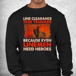 line clearance tree trimmer arborist tree surgeon logger shirt 2