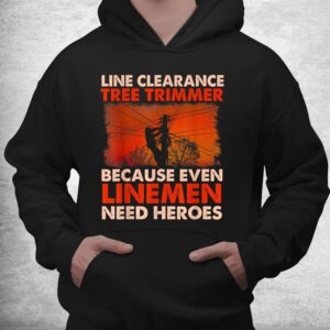 line clearance tree trimmer arborist tree surgeon logger shirt 3