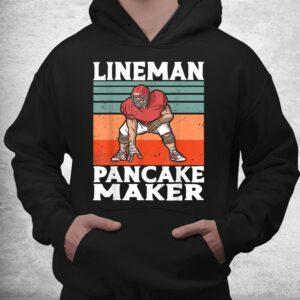 lineman pancake maker vintage american football costume shirt 3
