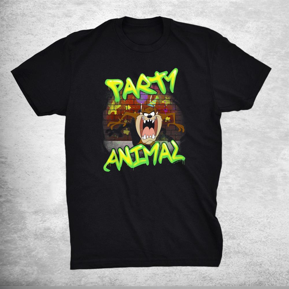 Looney Tunes Birthday Party Taz Shirt