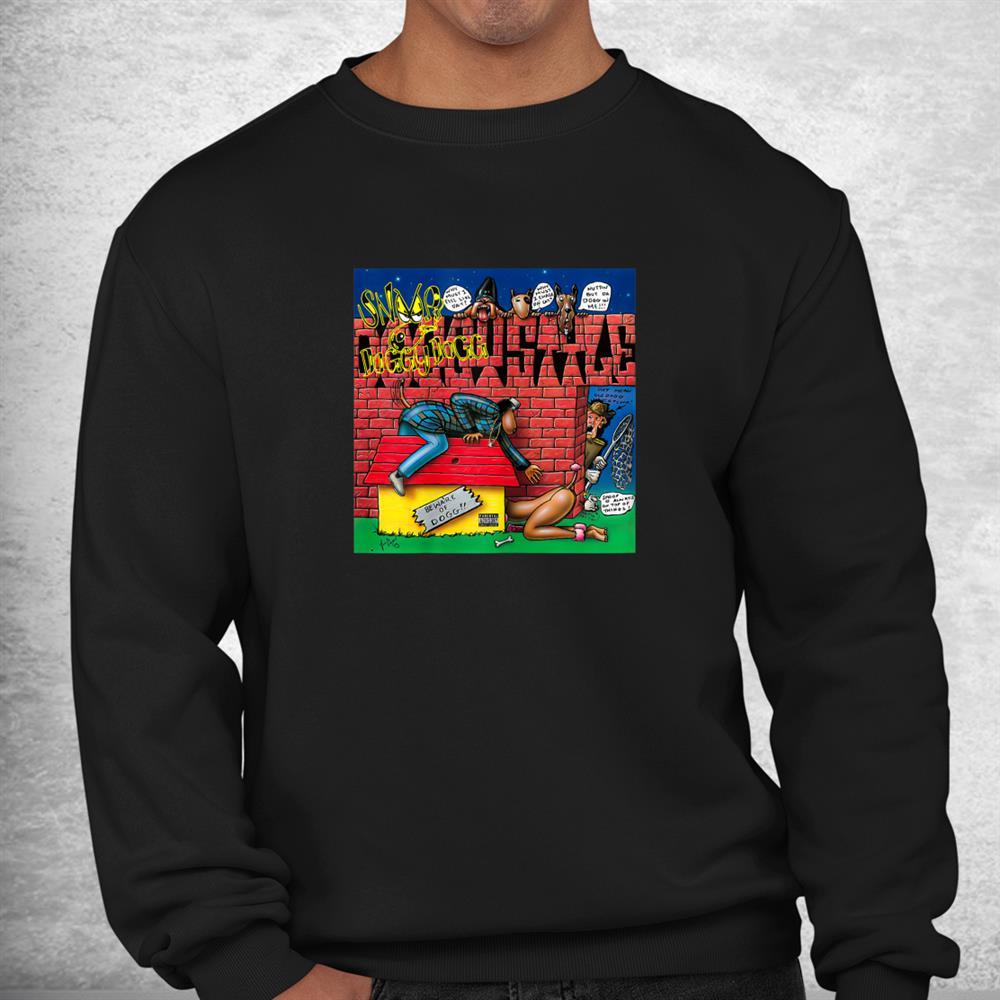 Love Comic Japanese Style Doggs Funny Rap Shirt