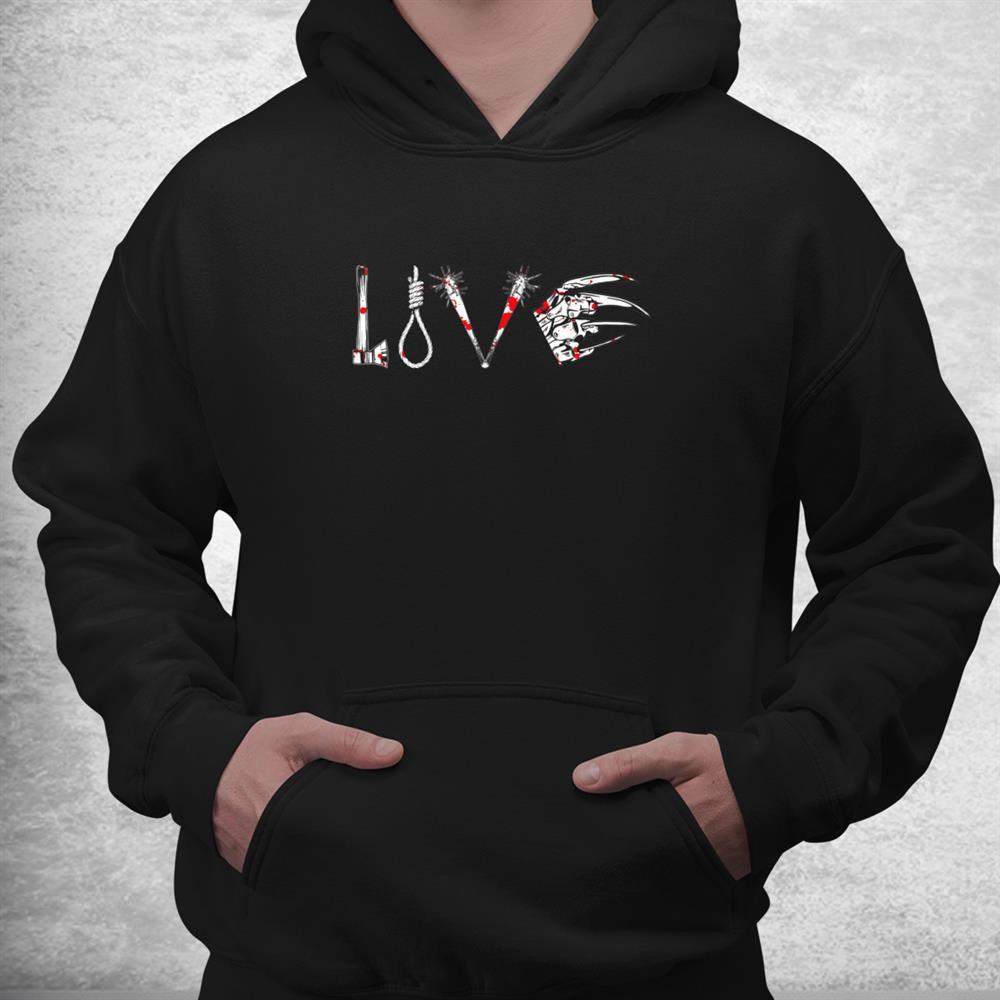 Love Horror Movie Halloween Horror Flick Movie Lover Shirt