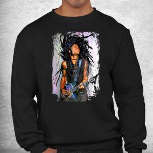 love lenny distressed design arts kravitz singer shirt 2