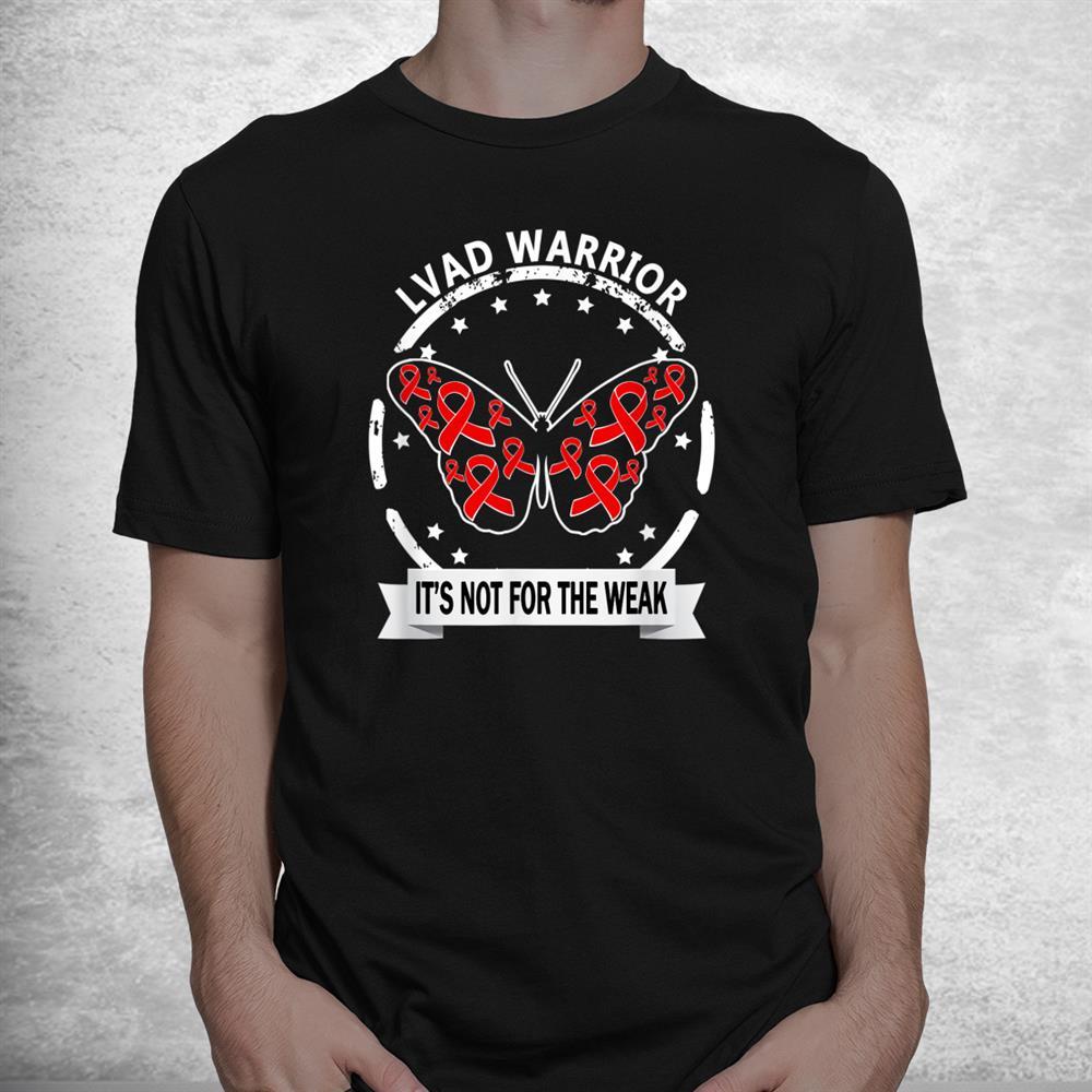 Lvad Warrior Red Ribbon Day Inspirational Shirt