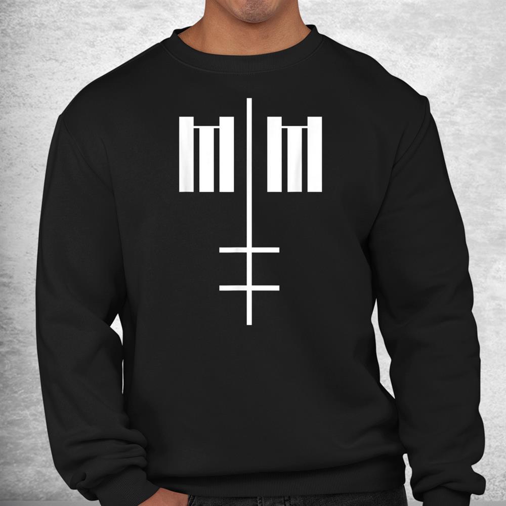 Marilyn Manson Mm Cross Shirt